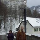 Бавария  март 2016 по дороге  к замку Нойшванштайн.